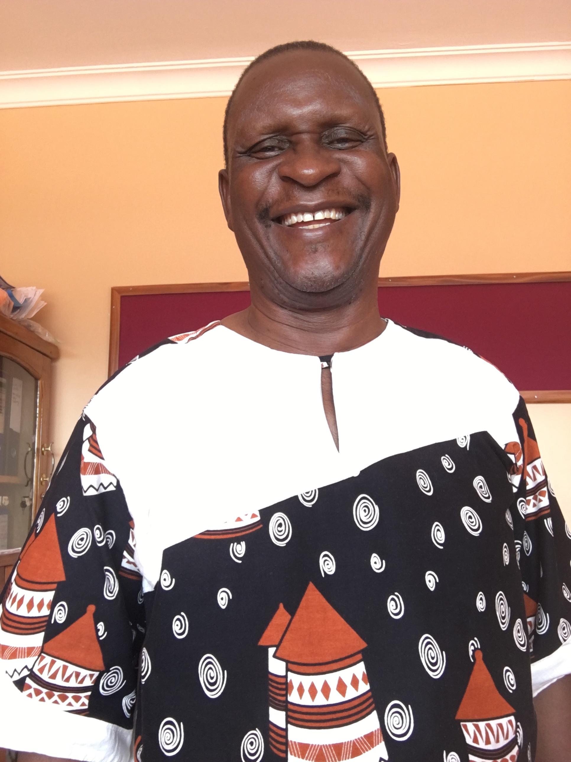 SEGA Co-Founder Blastus Mwizarubi.