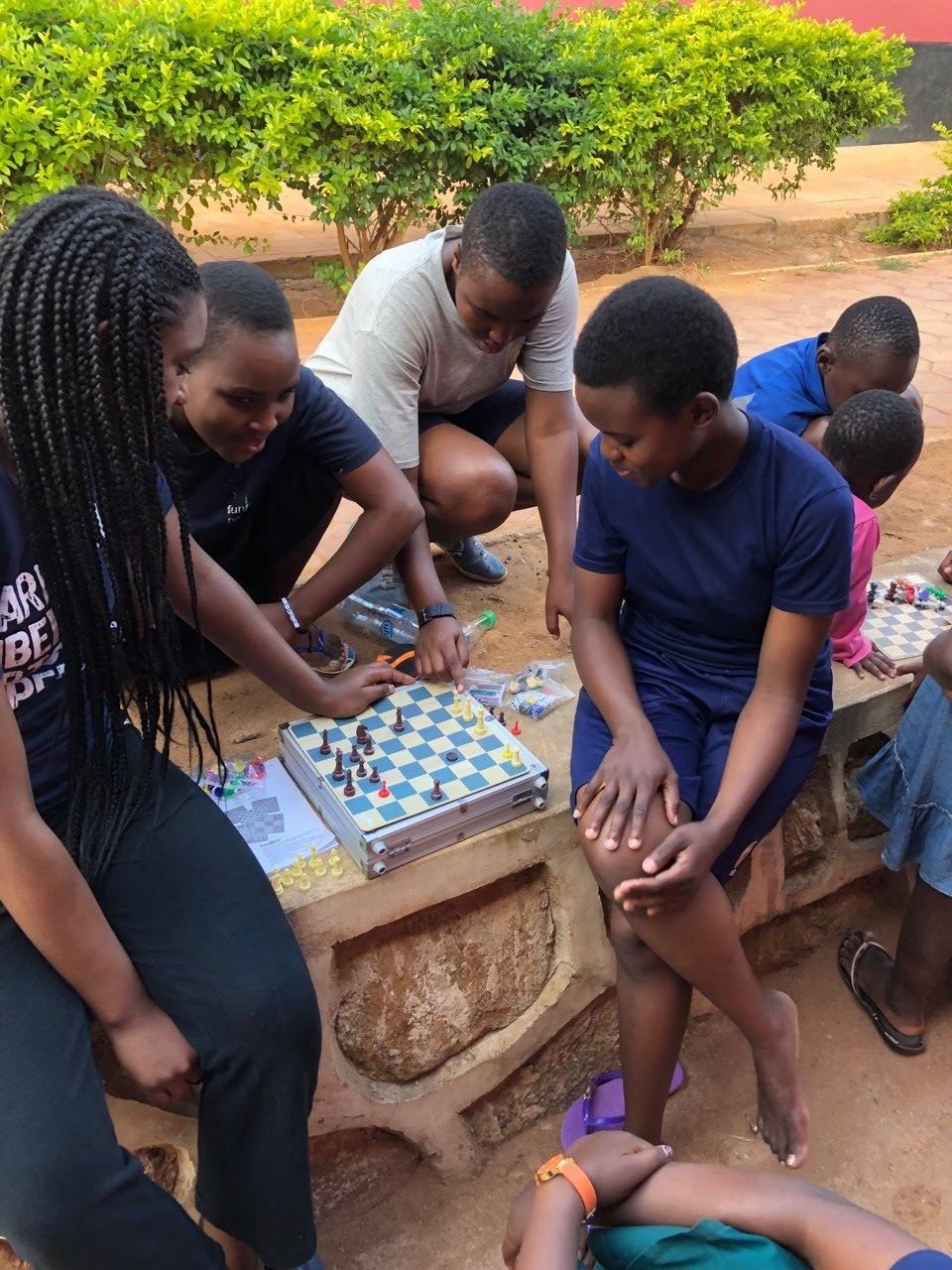 Learning to play chess with the PBM group