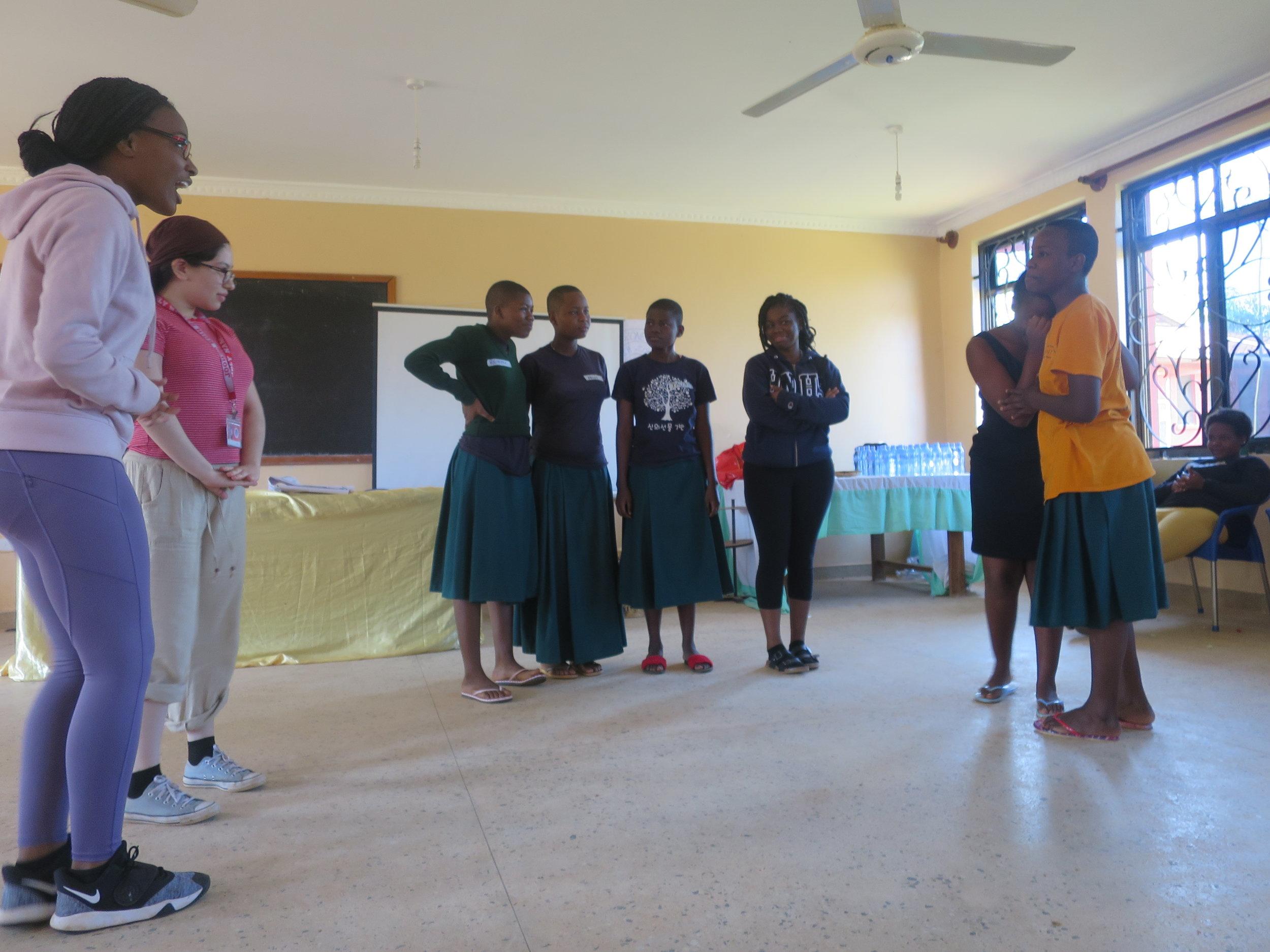 Enjoying the Leadership Training workshop