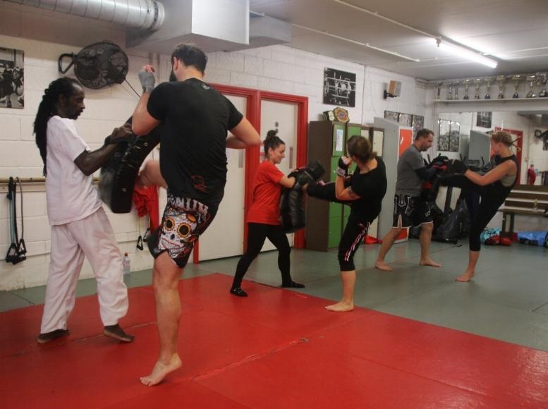 Springhealth Kickboxing Kick and Stretch