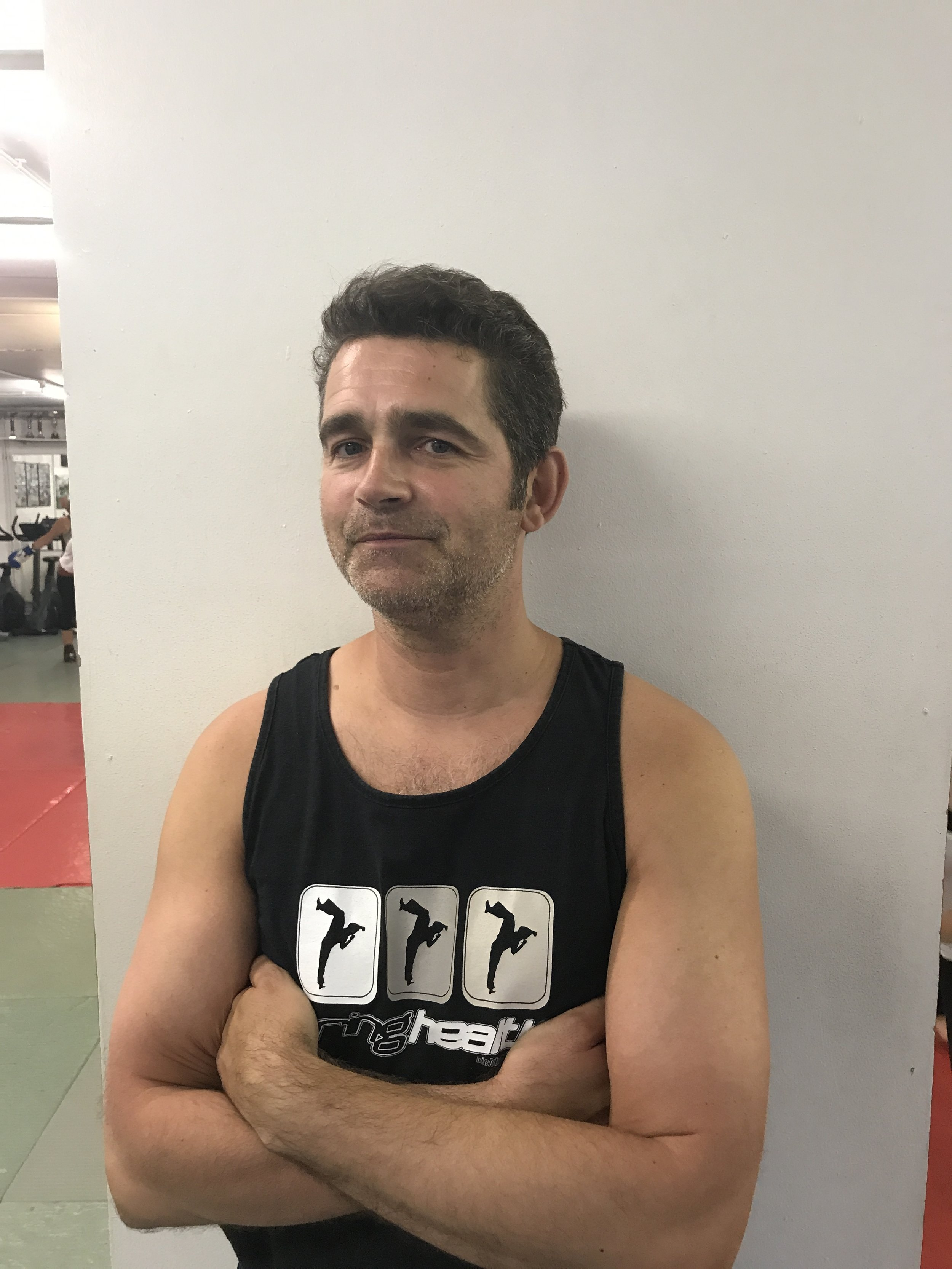 Ali Snodgrass - Senior InstructorAli first started kickboxing with Springhealth 18 years ago and during this time he has become an asset to the team regularly teaching several classes a week. Ali focuses on providing his students with clear instruction to achieve a high technical standard. He's an advocate for good technical form and has limitless patience with his students. His classes are fast paced, will keep you on your toes and are always fun.
