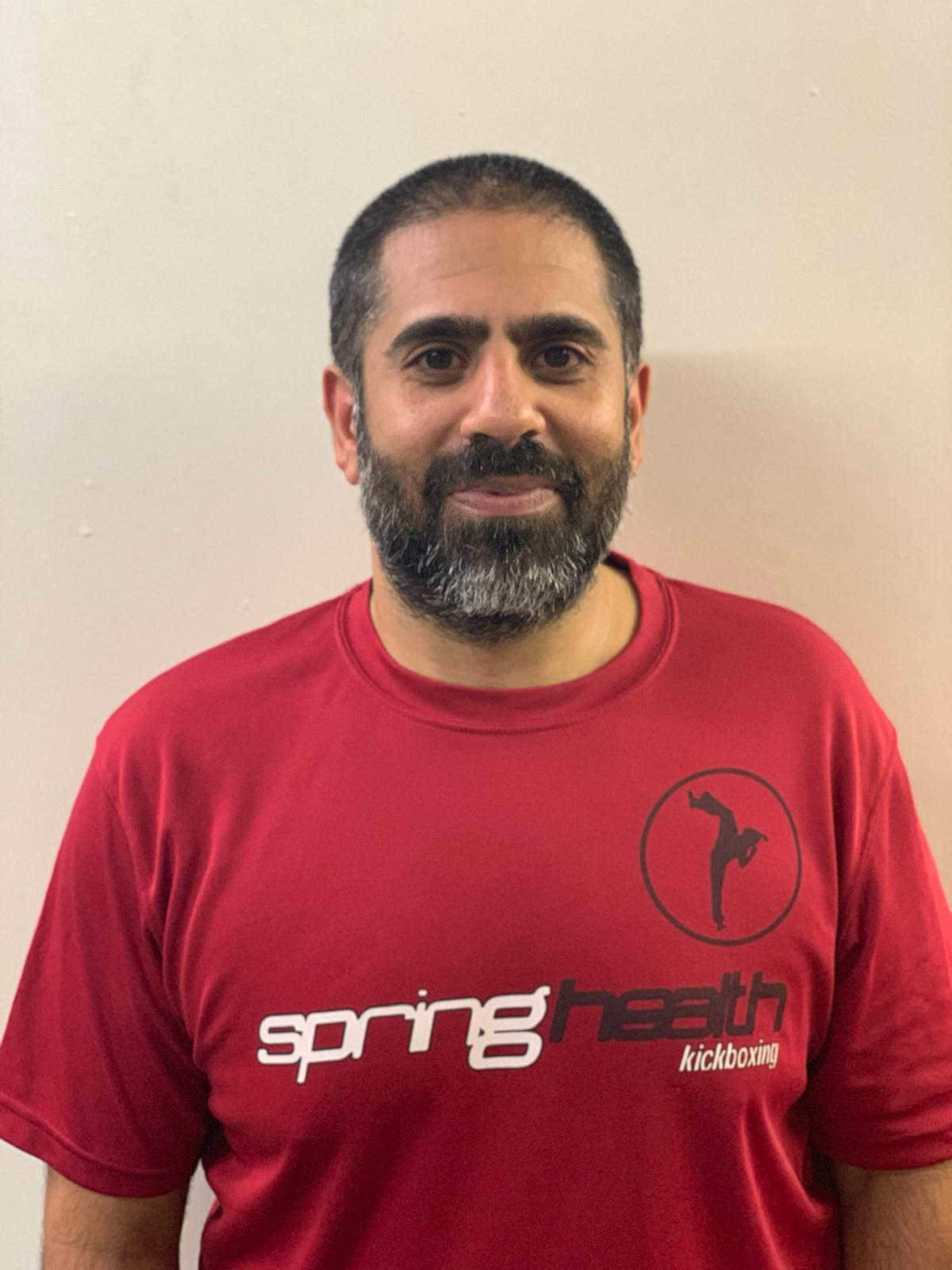 Kaash sethi - Assistant InstructorIf you come to Springhealth, it's likely you know Kaash. Kaash has a big heart, a laid back demeanour and an insatiable appetite for learning and progression. It is this infectious attitude which he passes to all he helps and makes him a key part of the team.