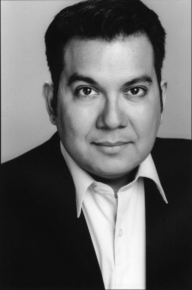"""David Flores is the narrator in Boulevard Theatre's """"The Realistic Joneses."""""""