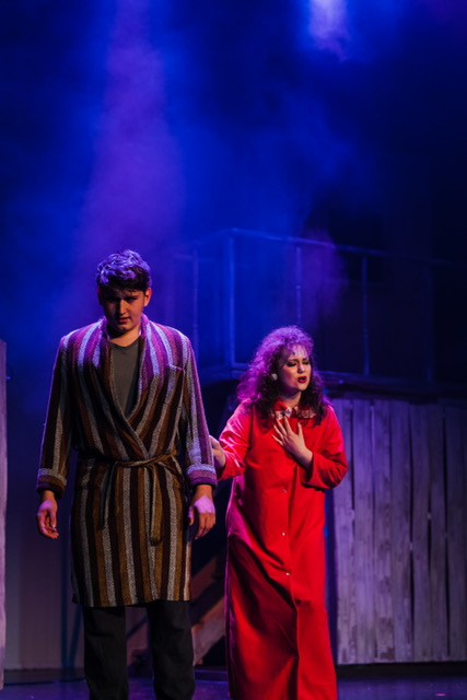 """Shaw (Aidan Thiele) and his wife, Vi (Kailee Doherty) try to move on from a family tragedy as they sing """"Can You Find It in Your Heart."""""""