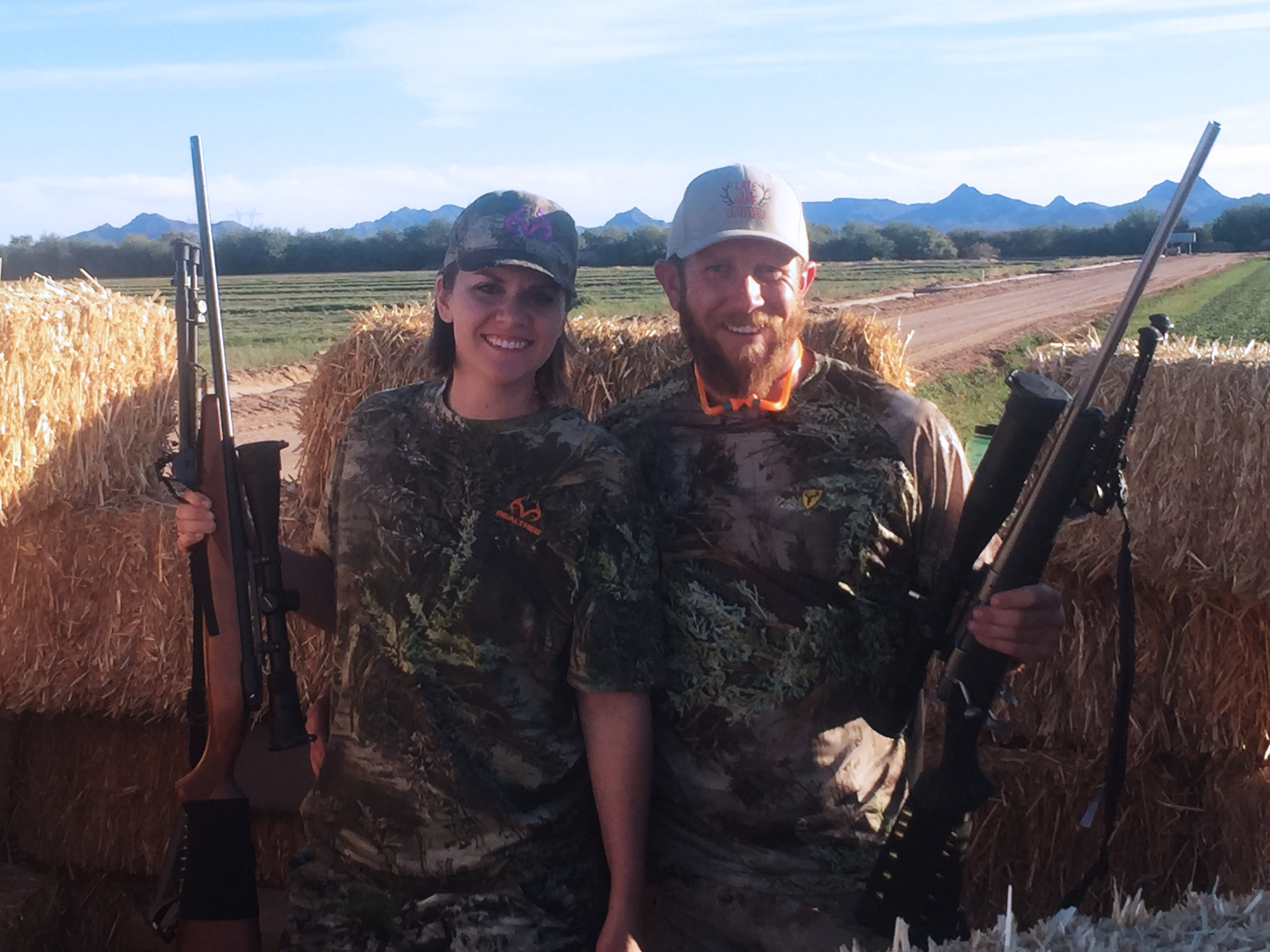 The couple that hunts together, stays together…or gets in a massive fight…I forget how that saying actually ends.