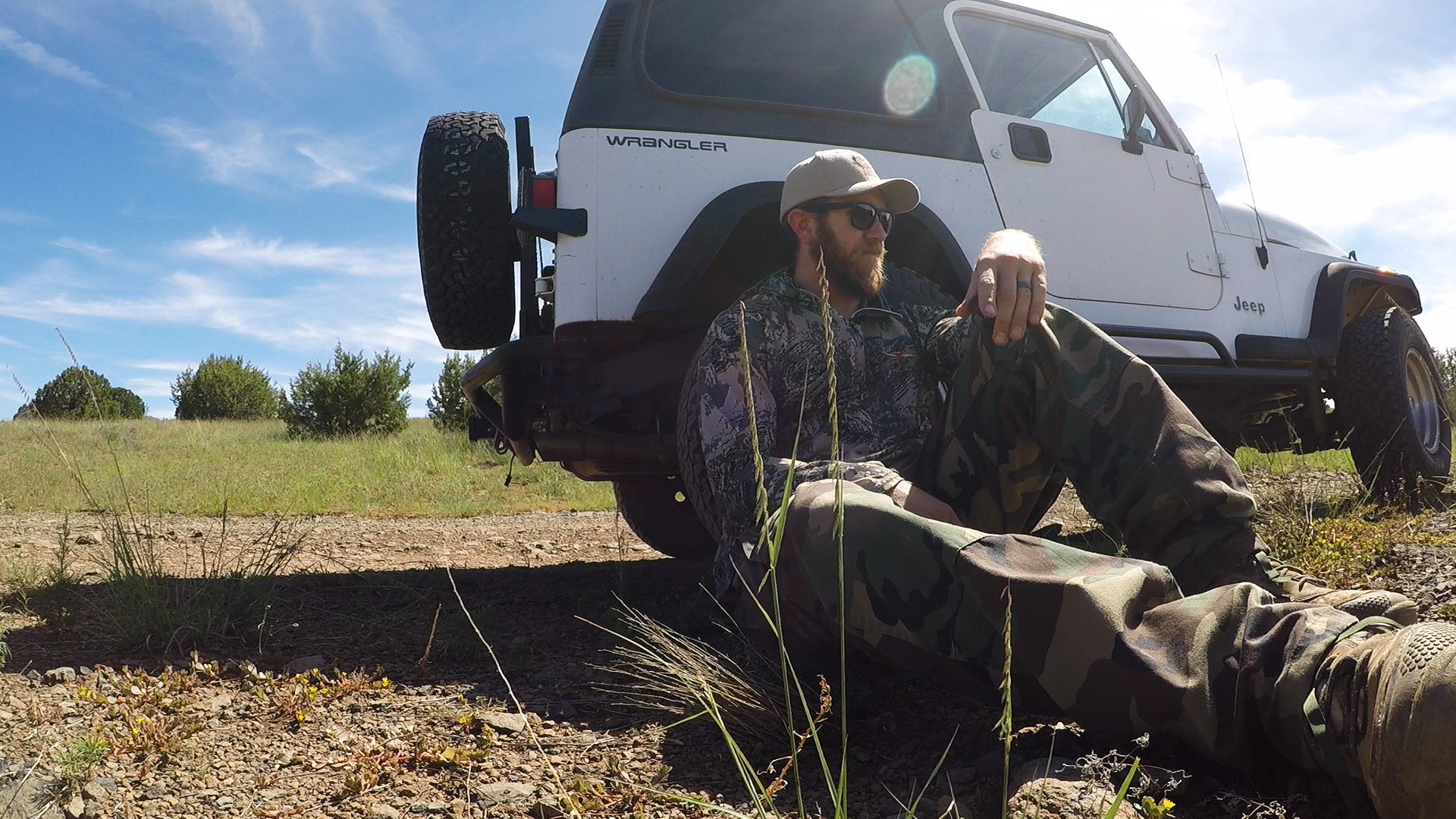 At this point, bears are my bad luck animal…Their magical bear curse actually broke my Jeep on a hunt last year!