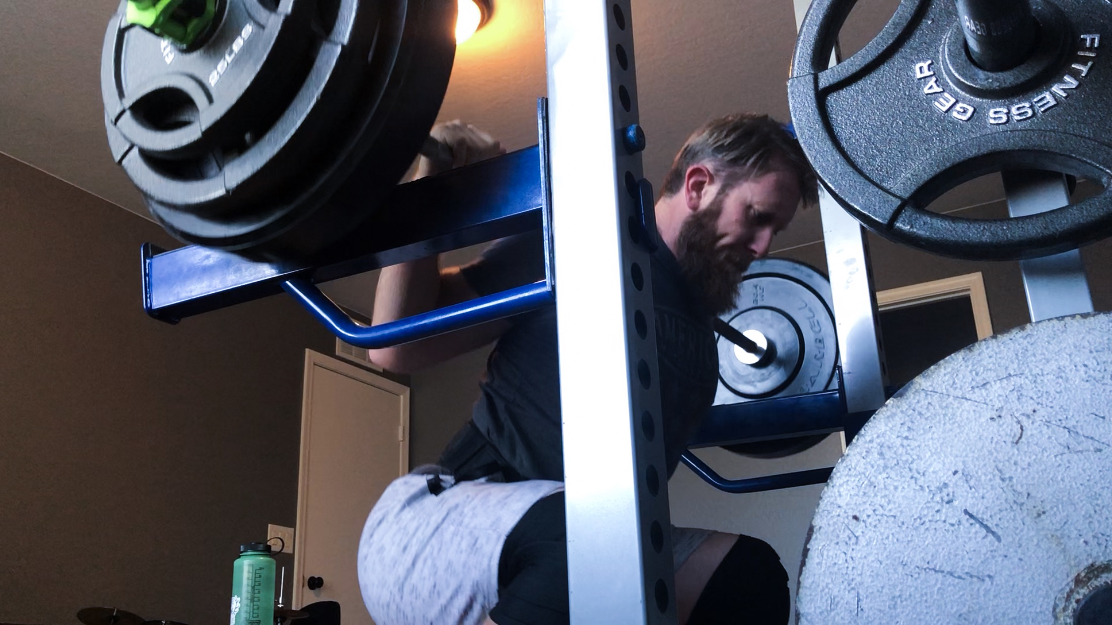 Barbells are a significant part of my anti-anxiety regimen!