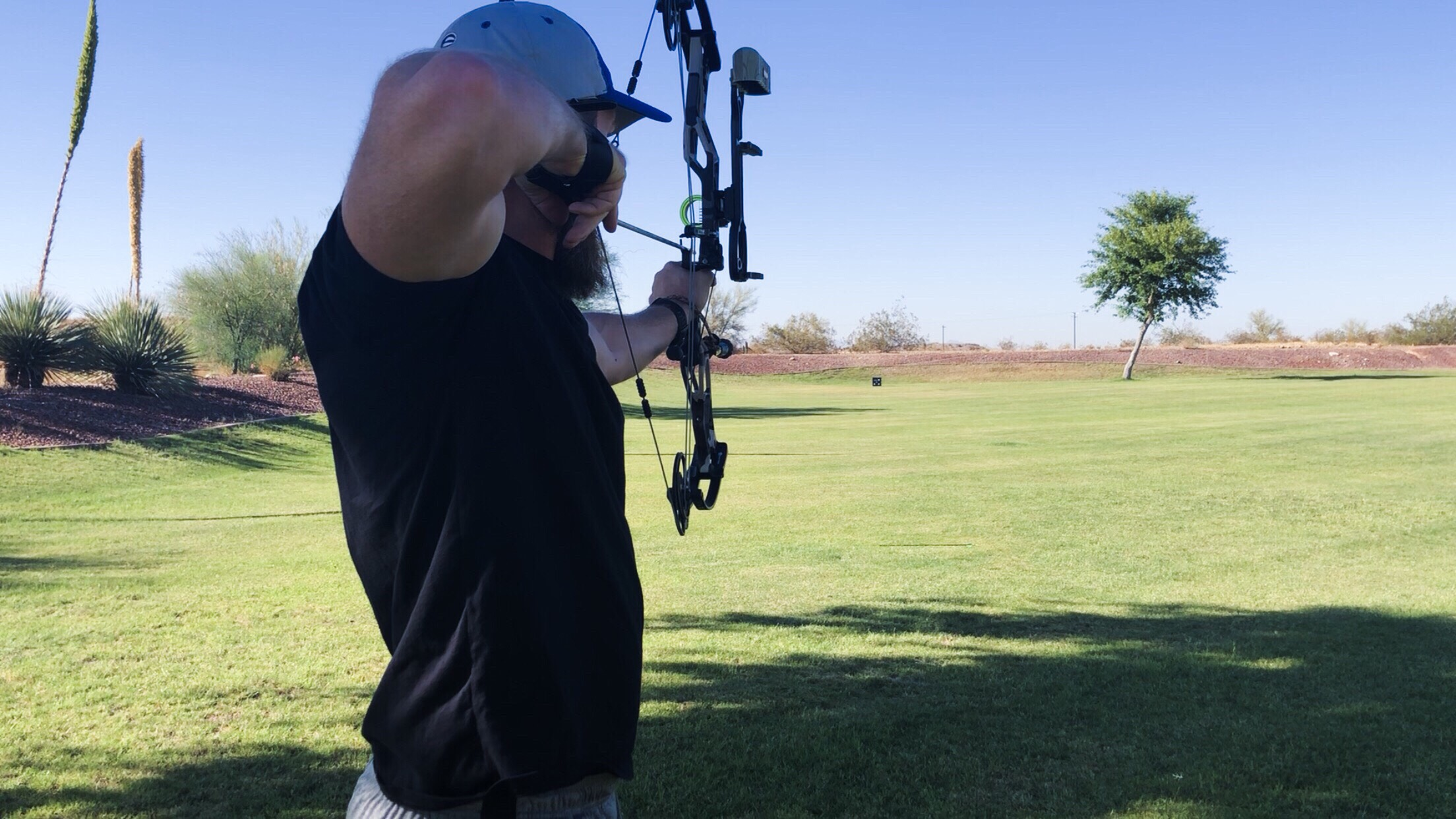 I CHOOSE to make time for things that help me unwind…like shooting my bow as often as possible!