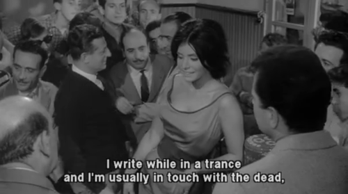 from Michelanglo Antonioni's  L'Avventura  (1960)