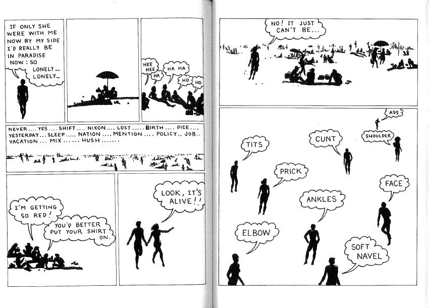 "Page 4-5: ""WHITE NOISE with Joe Brainard Calais Vermont 1969-NYC 1970."""