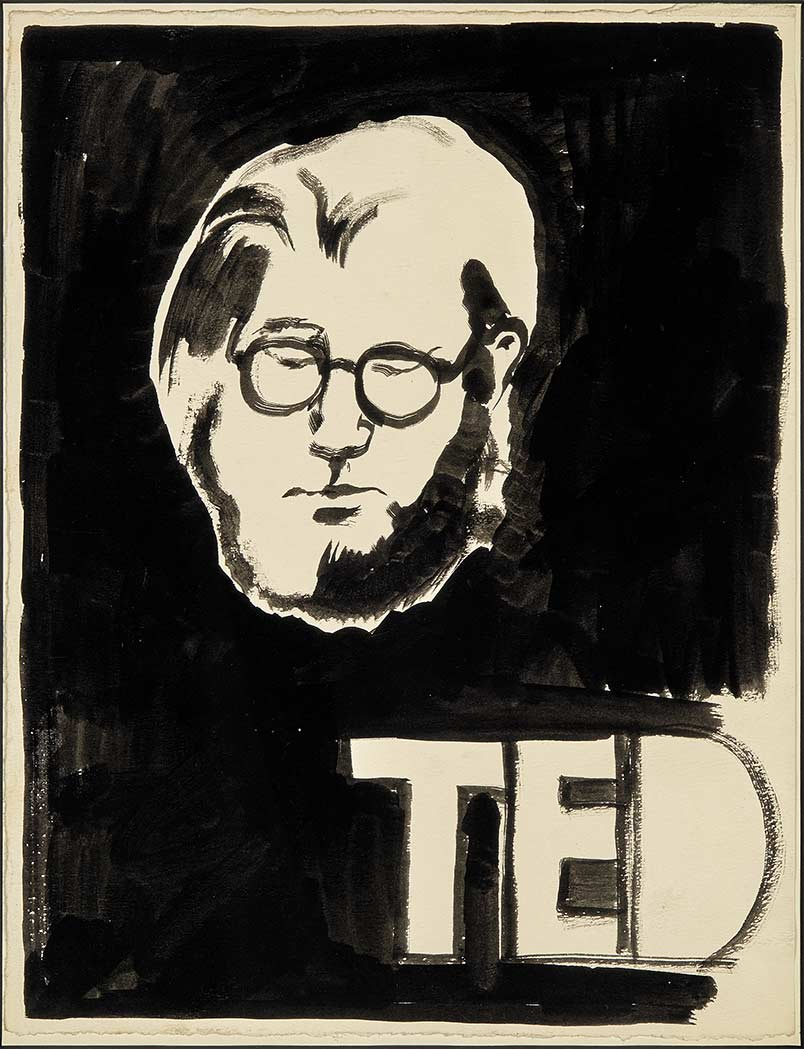 TED by Joe Brainard (mid-60s?).jpg