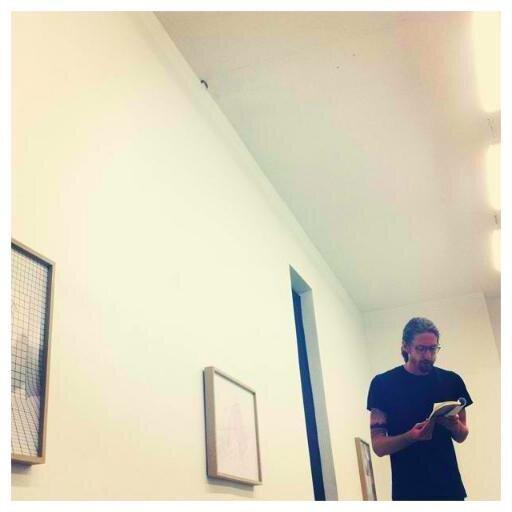 Reading from  How We Light  at Third Turn gallery, Cincinnati, Ohio.