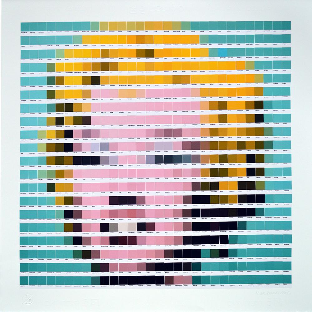 Marilyn - Blue 2015