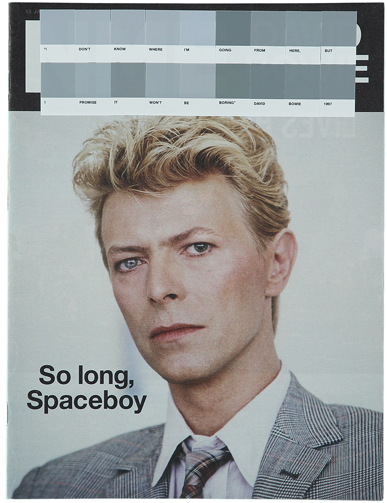 David Bowie, NME, 2016