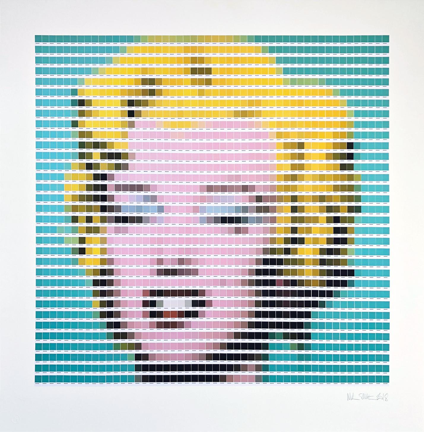 Warhol - Turquoise Marilyn