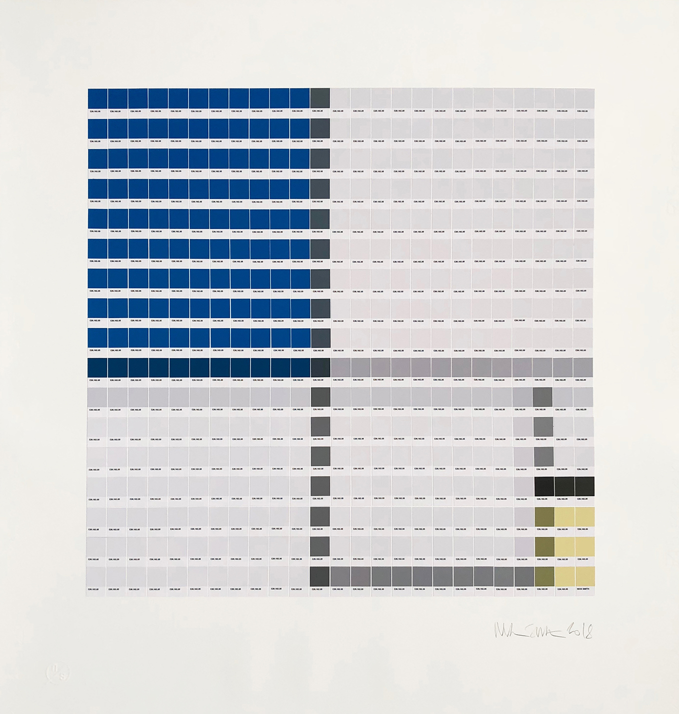 Mondrian - Composition No. II