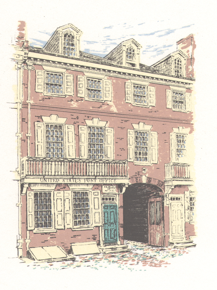 Ben Franklin Post Office