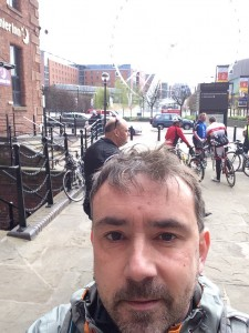 Outside Costa Coffee at Liverpool Albert Dock