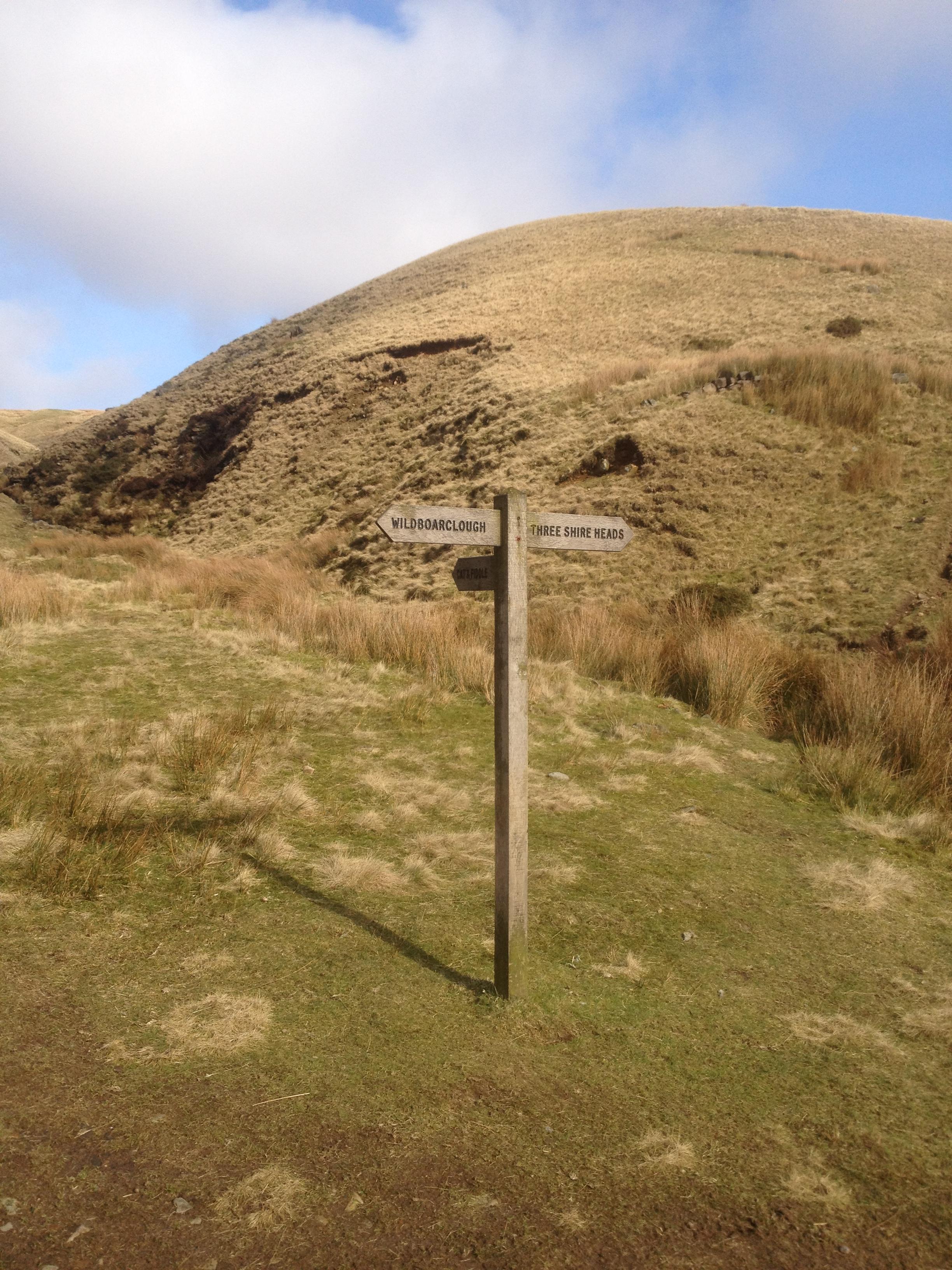 Halfway up Cumberland Brook, Wildboarclough