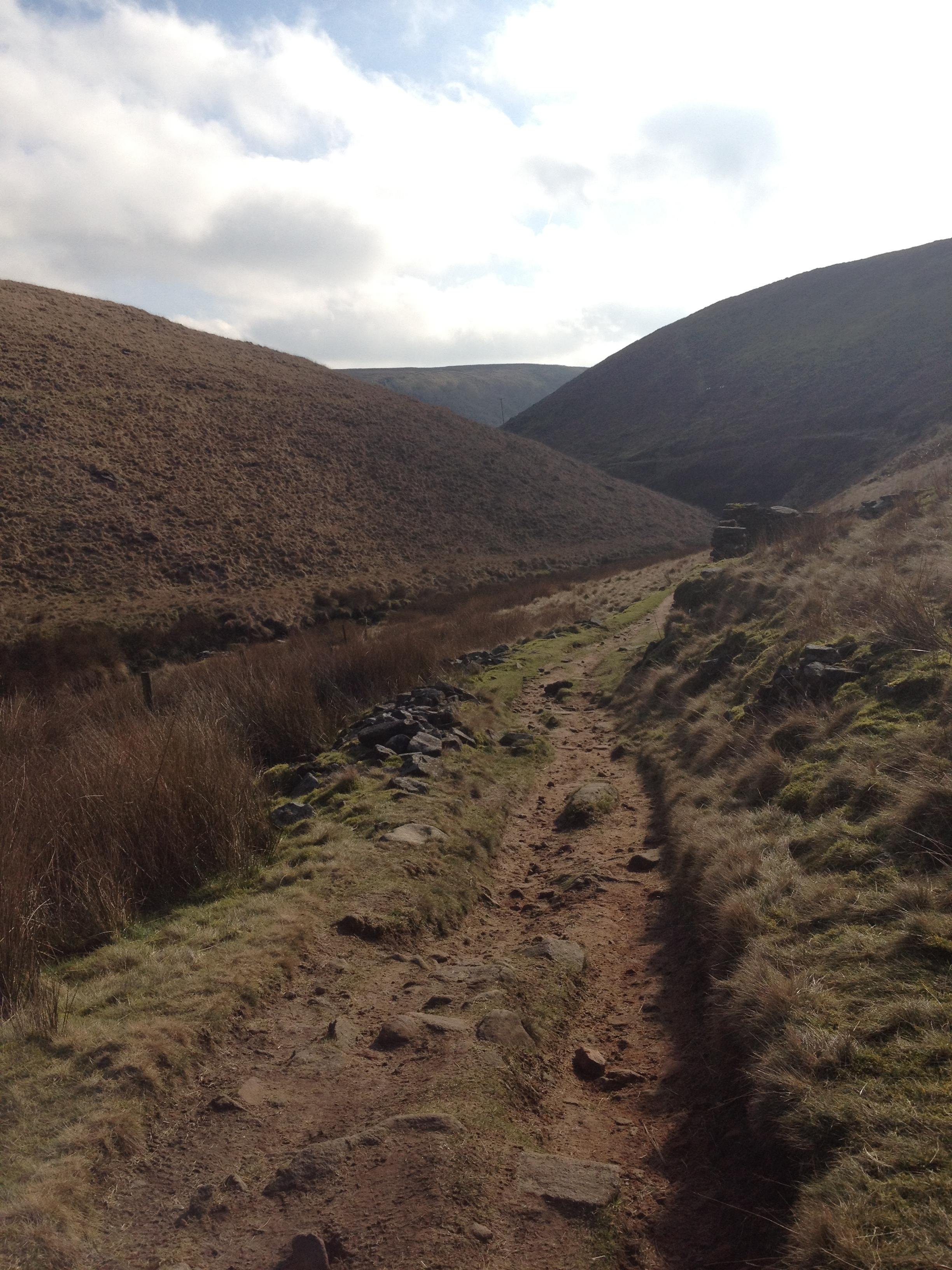 Heading to Three Shires Head