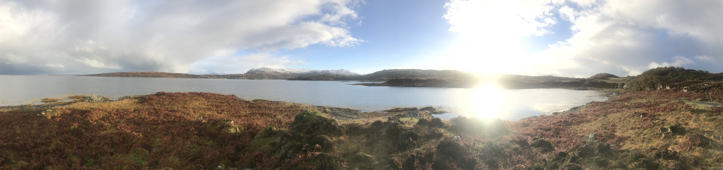 View toward Arisaig