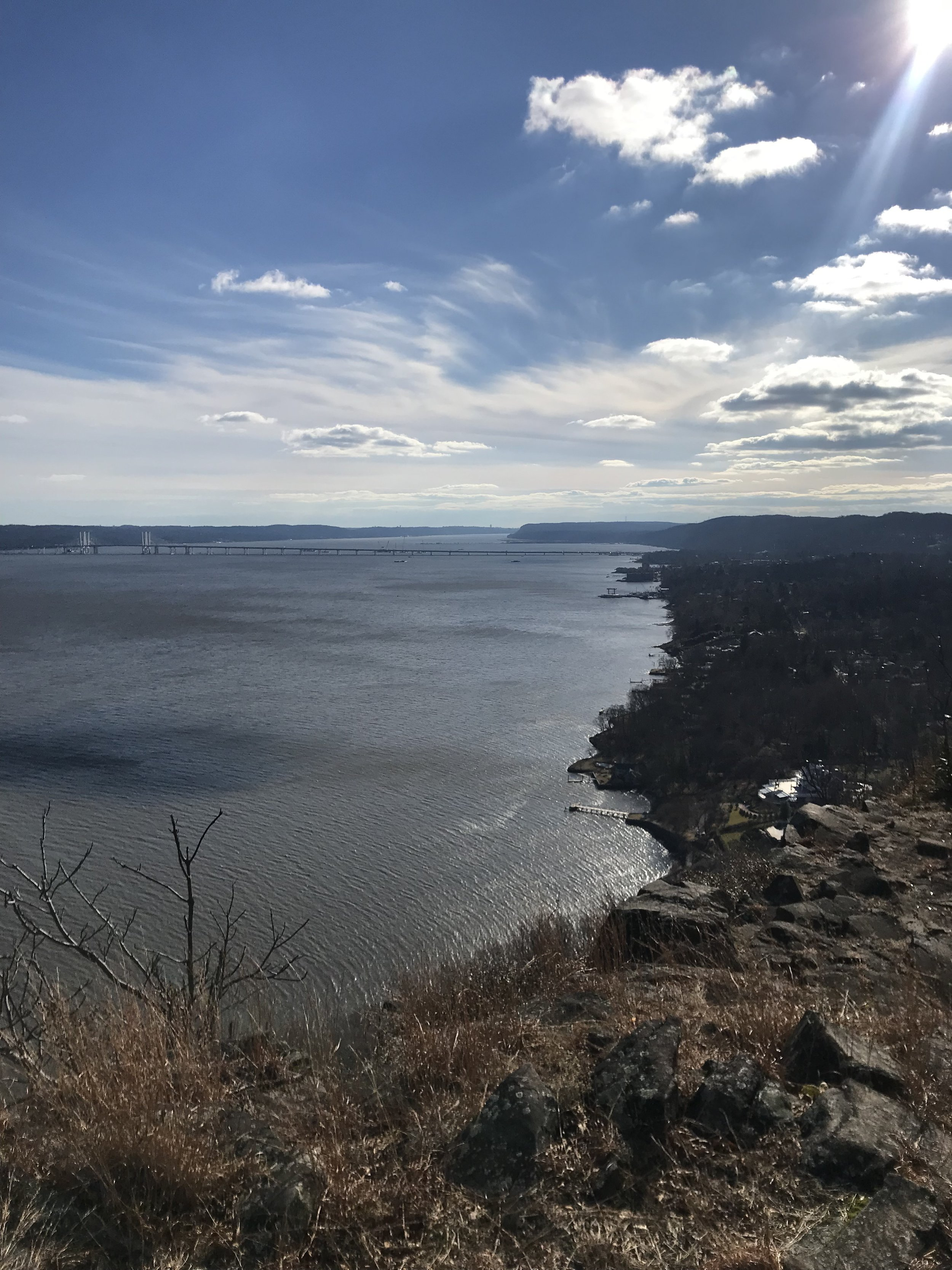 Nyack from Hook Mountain State Park