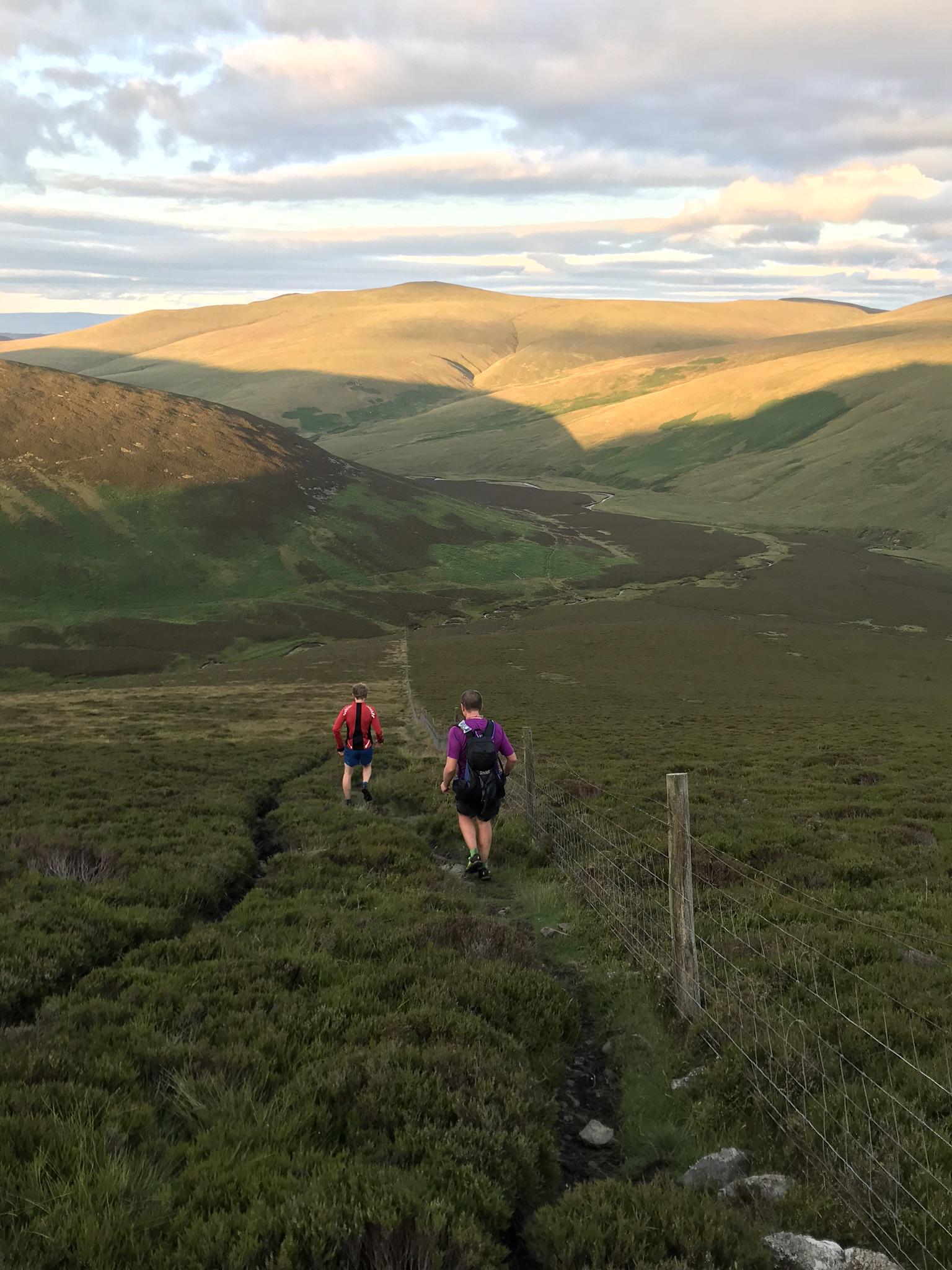 Descending off Great Calver