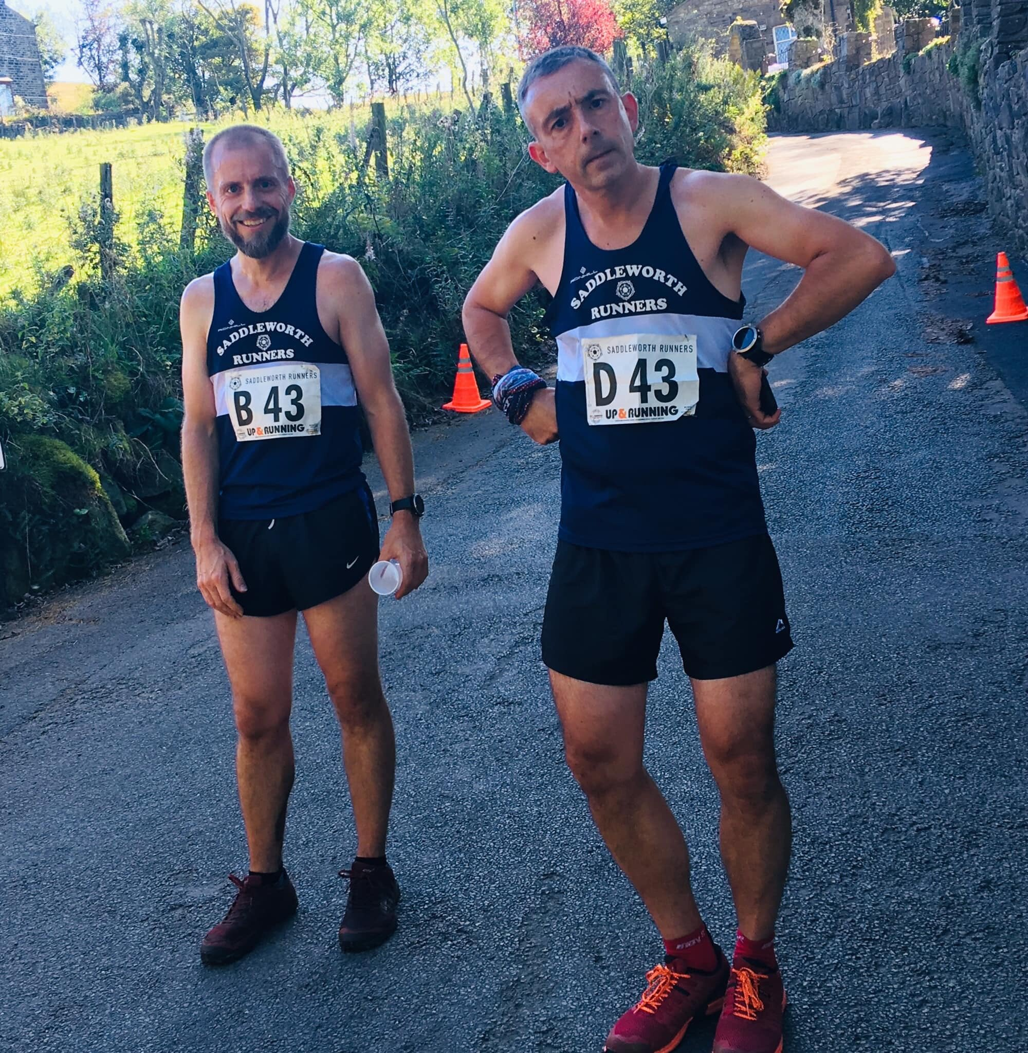 Haigh and Cobley in numbers - legs 2 and 4 fell.