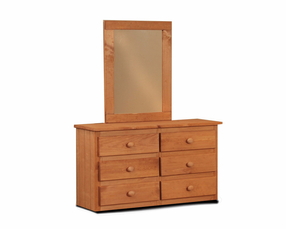 Youth Dresser and Mirror
