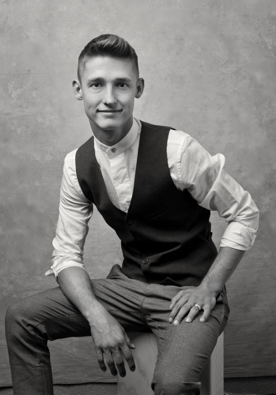 San Diego County Full Service Portrait Studio | Male Model Headshot