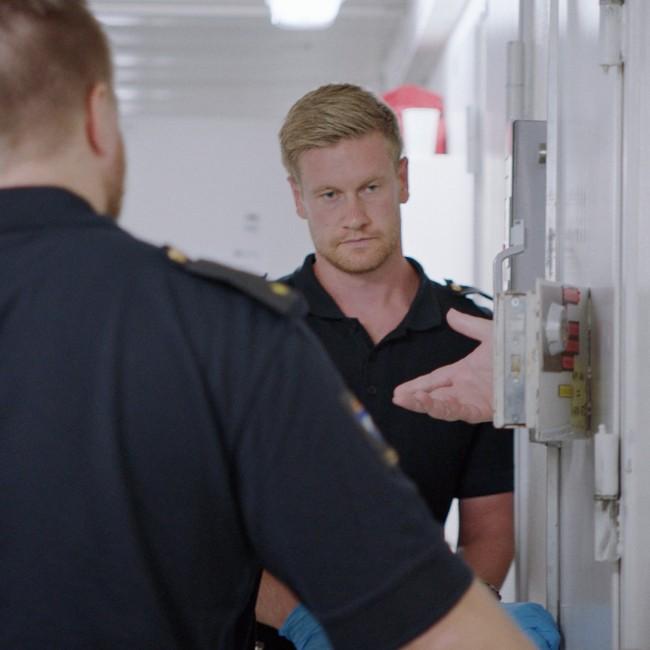 Dokumentaren «Fengslet og forlatt» følger ressursteamet som jobber med de farligste og sykeste innsatte på Ila fengsel. FOTO: LARS ERLEND TUBAAS ØYMO / SPERANZA FILM
