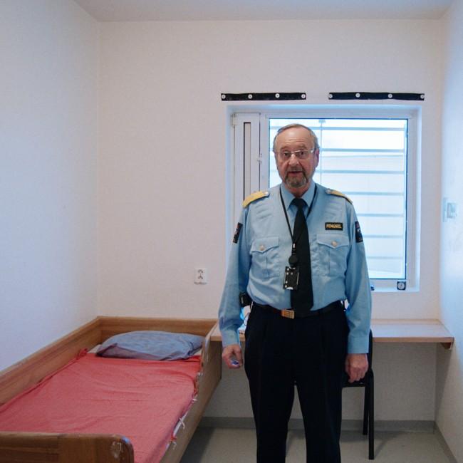 Knut Bjarkeid, direktør for Ila fengsel og forvaringsanstalt, har i mange år kjempet for et bedre tilbud til sine innsatte. FOTO: LARS ERLEND TUBAAS ØYMO / SPERANZA FILM