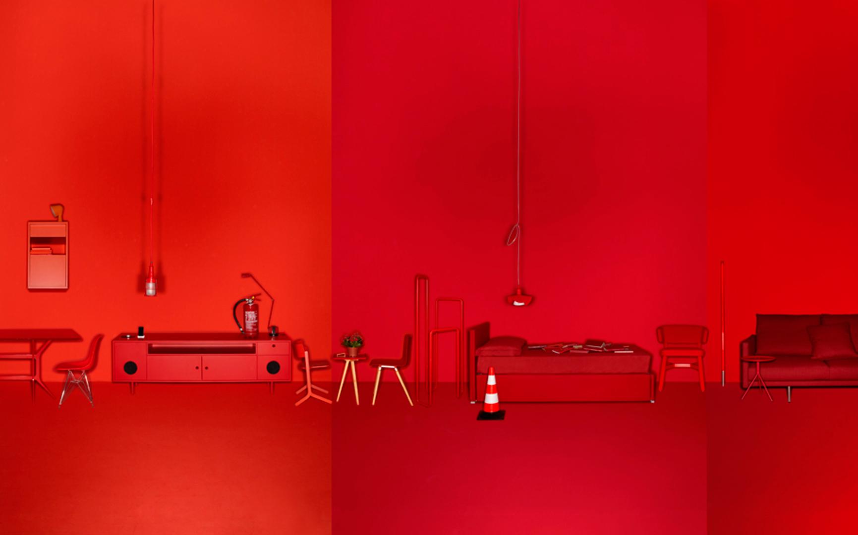 Elisa Ossino Studio — Elle Decor — Declinazioni di Rosso