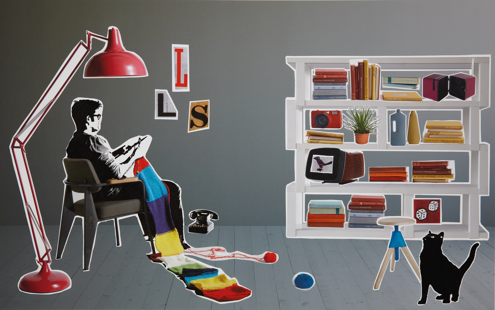 Elisa Ossino Studio — Elle Decor — Collage