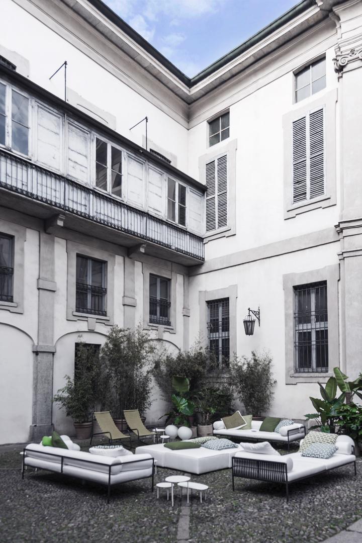 Elisa Ossino Studio — Palazzo Litta — Bistrot Ventiquattro