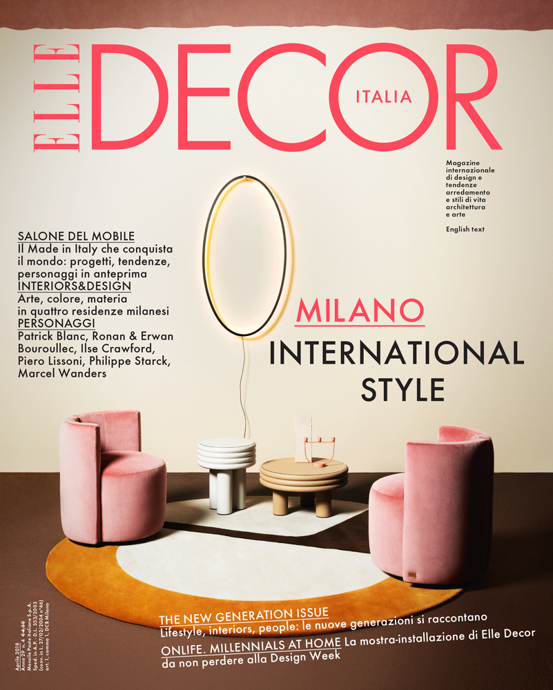 Elisa Ossino Studio — Elle Decor — Brown Touch