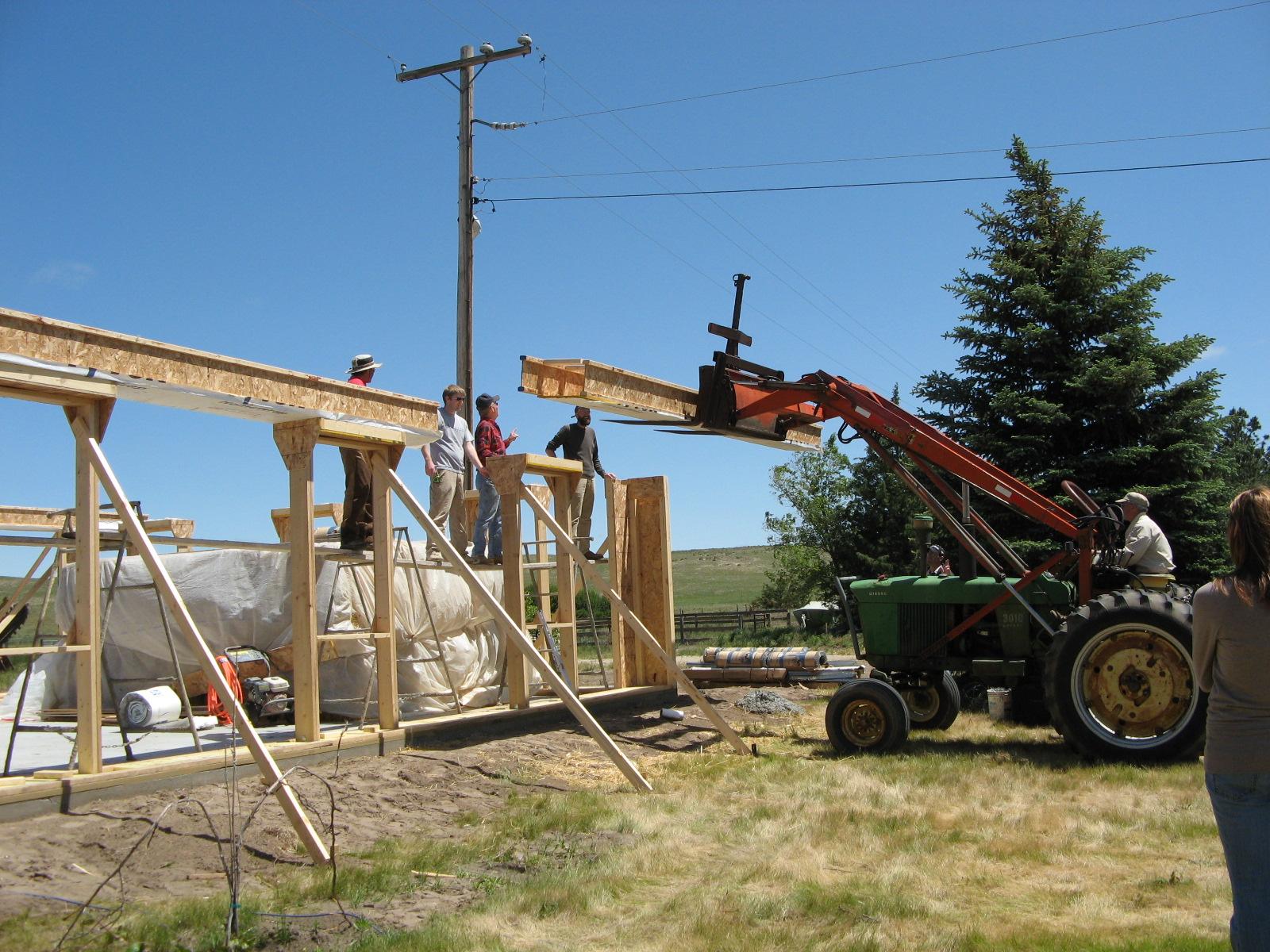 I-beam installation