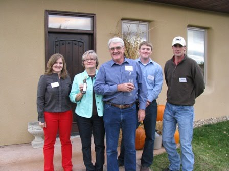 The Johnson Family at our first Open House in 2008