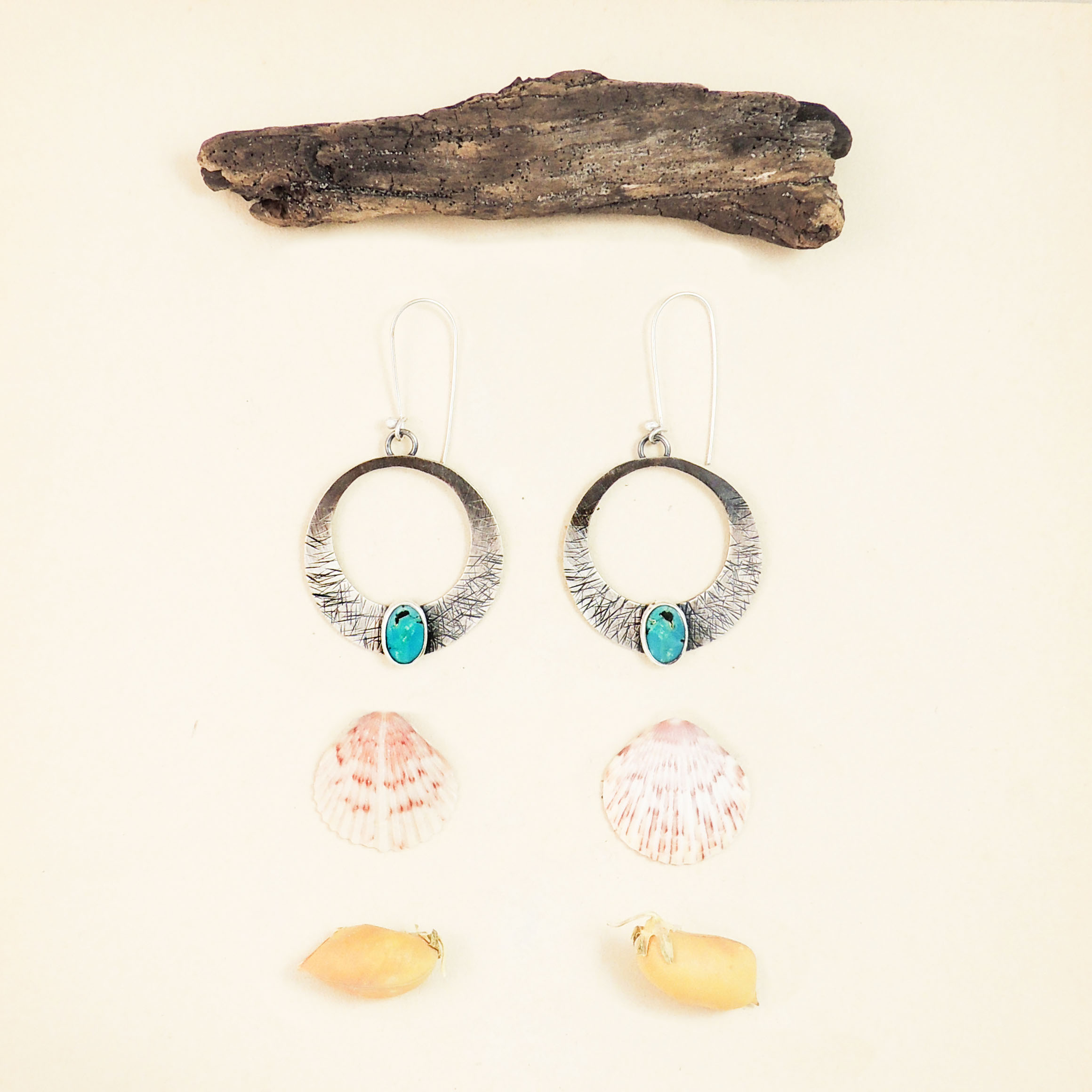 Nest Turquoise Hoop Earrings.jpg