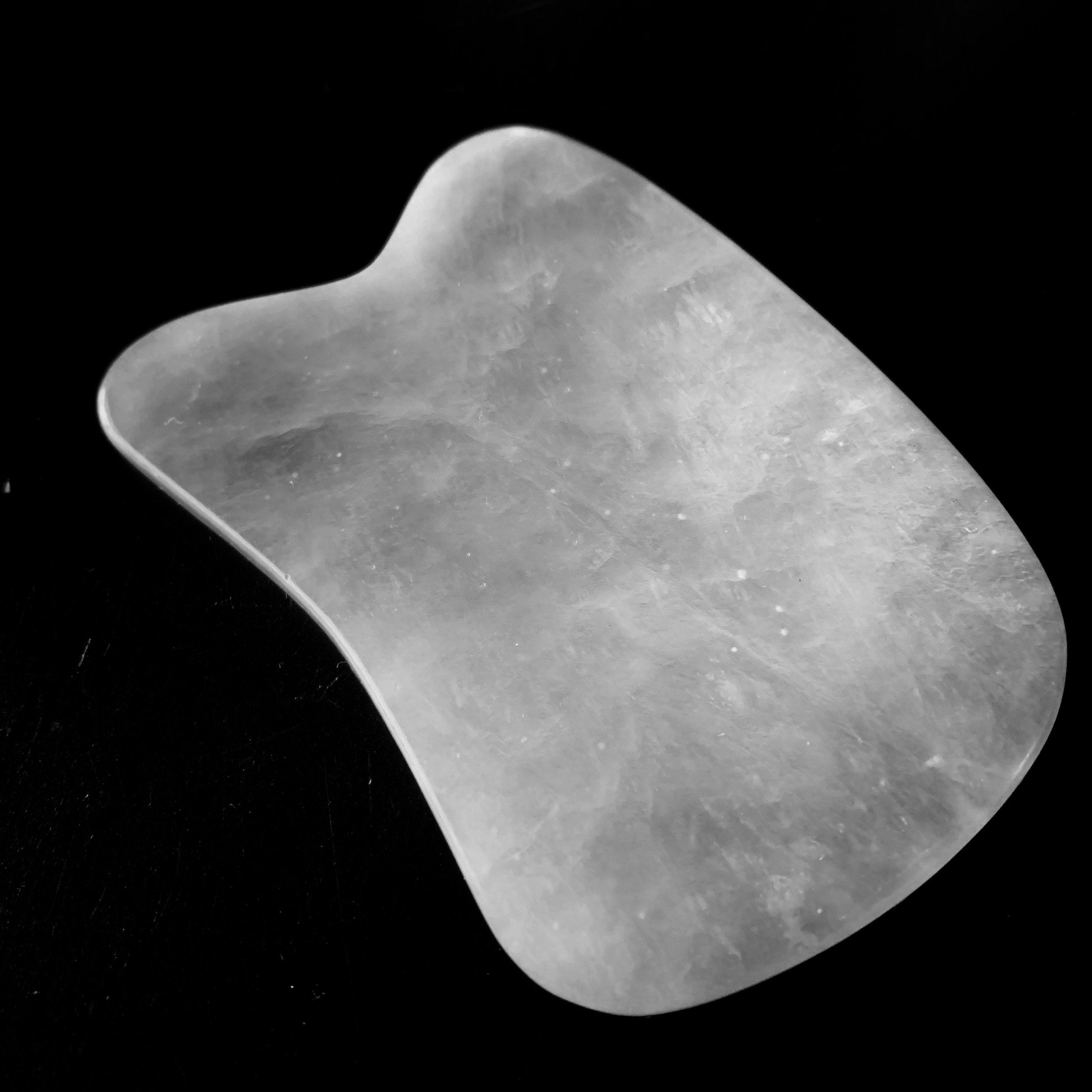 My jade gua sha tool