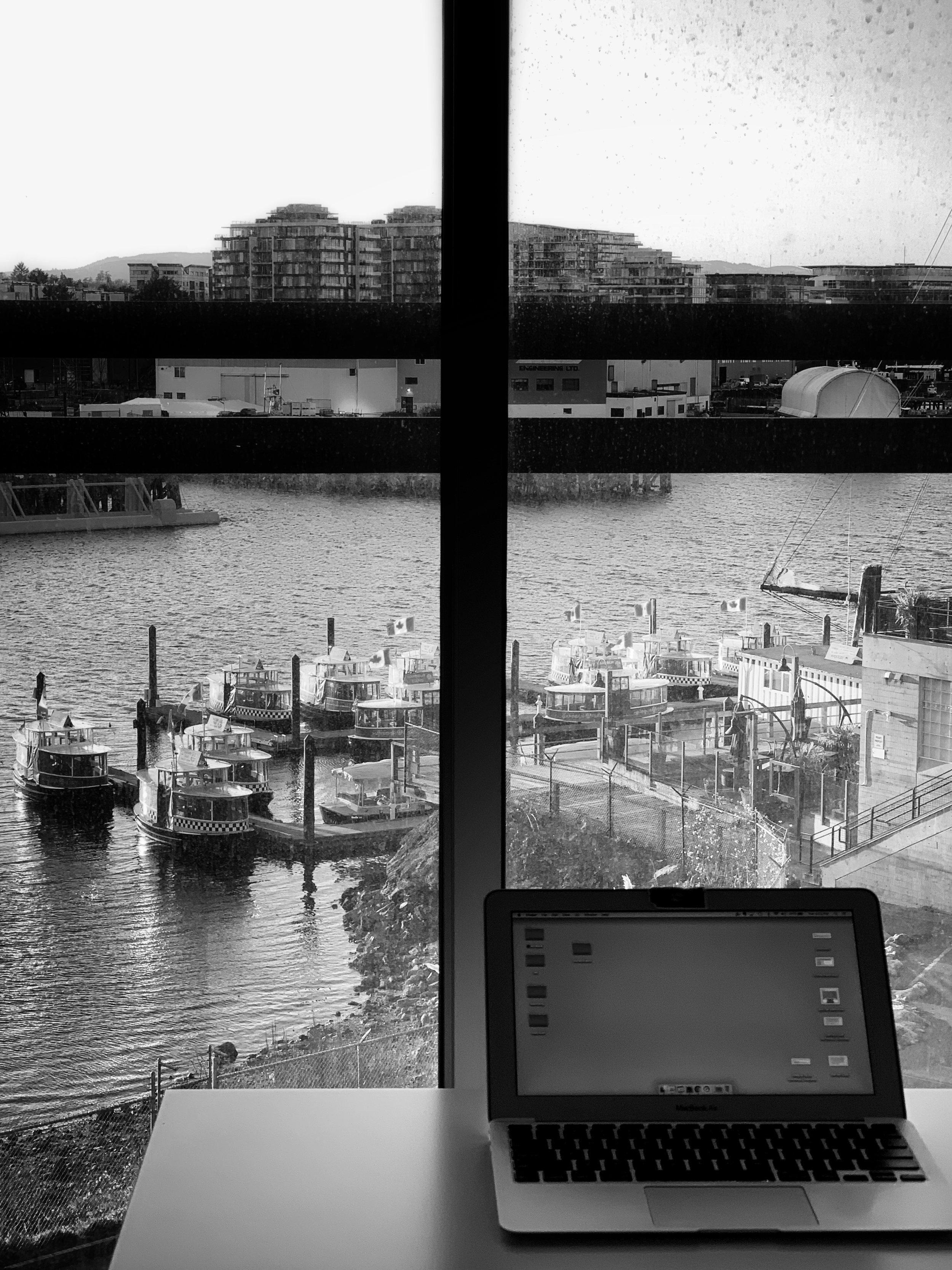 Digital nomad life, Victoria, BC