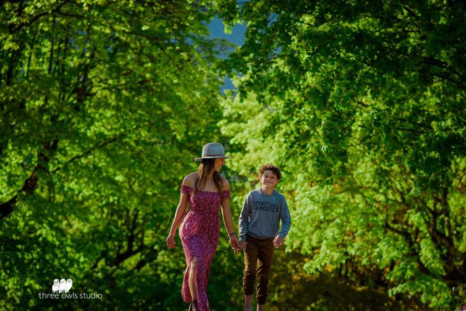 Kaila & her son Amani, photo by    Bobbi Barbarich