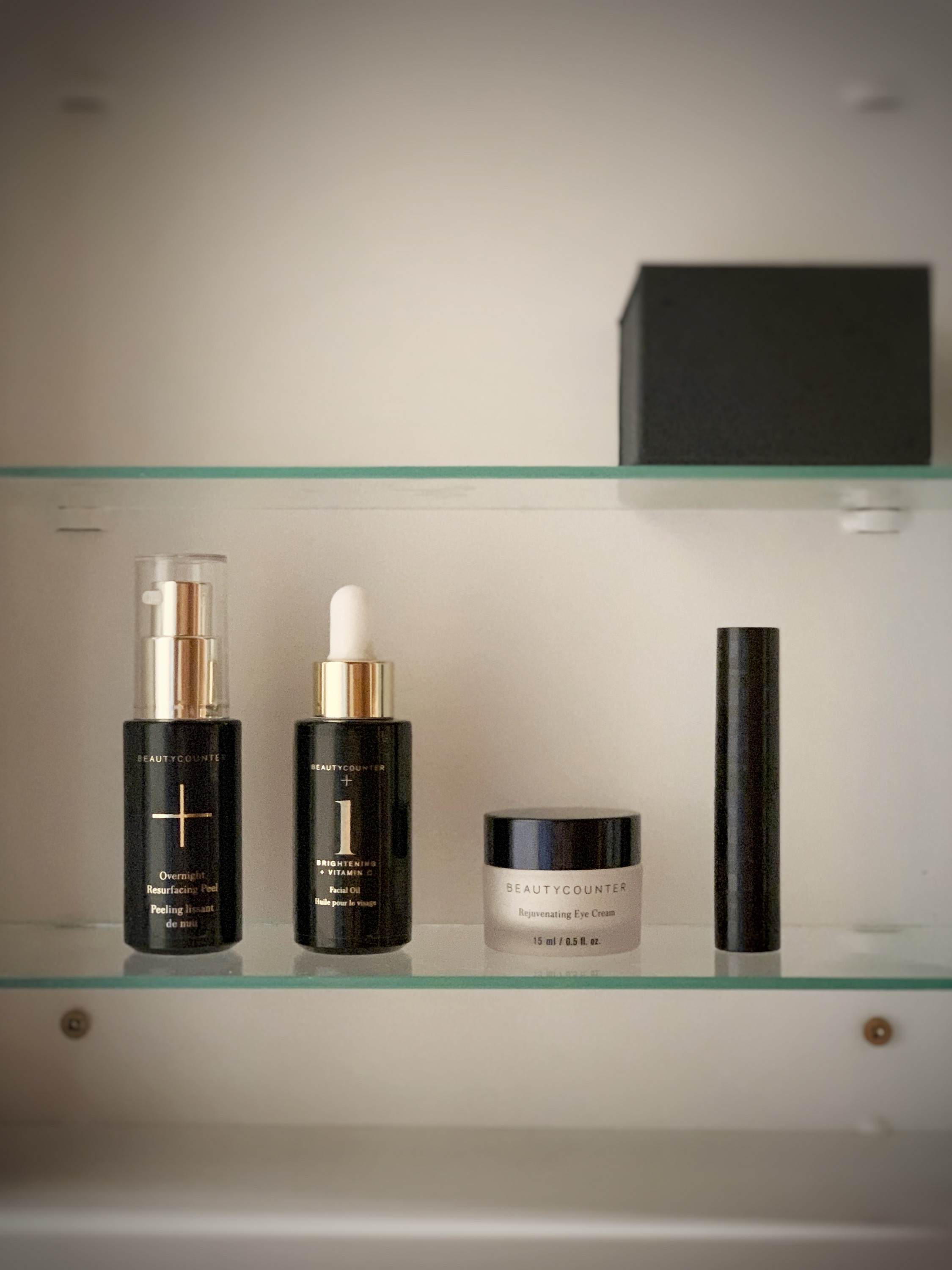 My minimalist skincare line-up