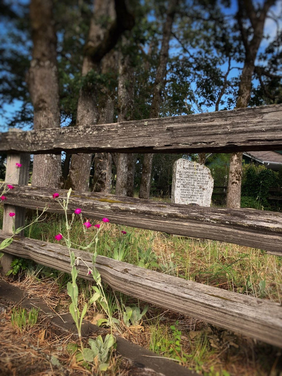 Colwood Pioneer Cemetery, Vancouver Island, BC