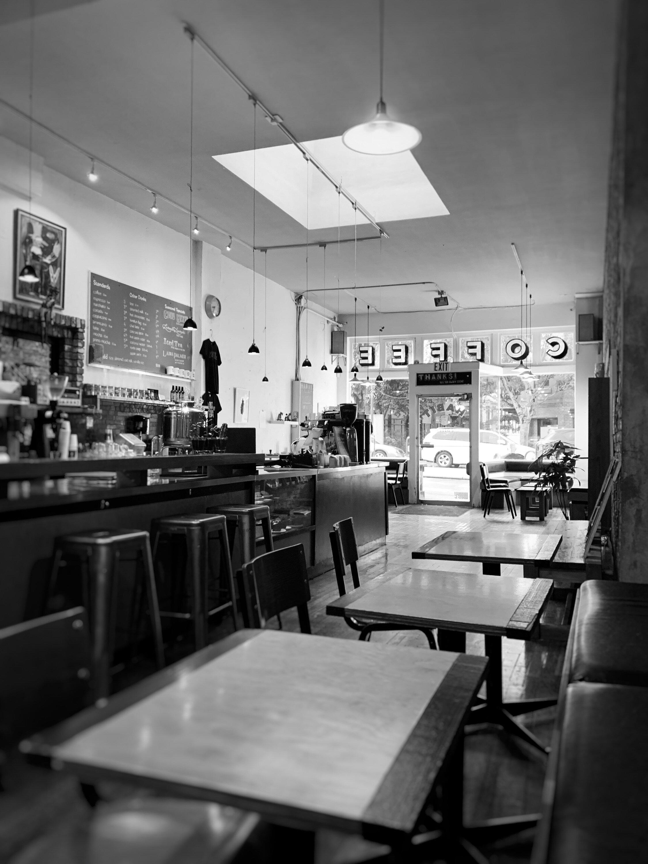 Habit Coffee, downtown Victoria, BC
