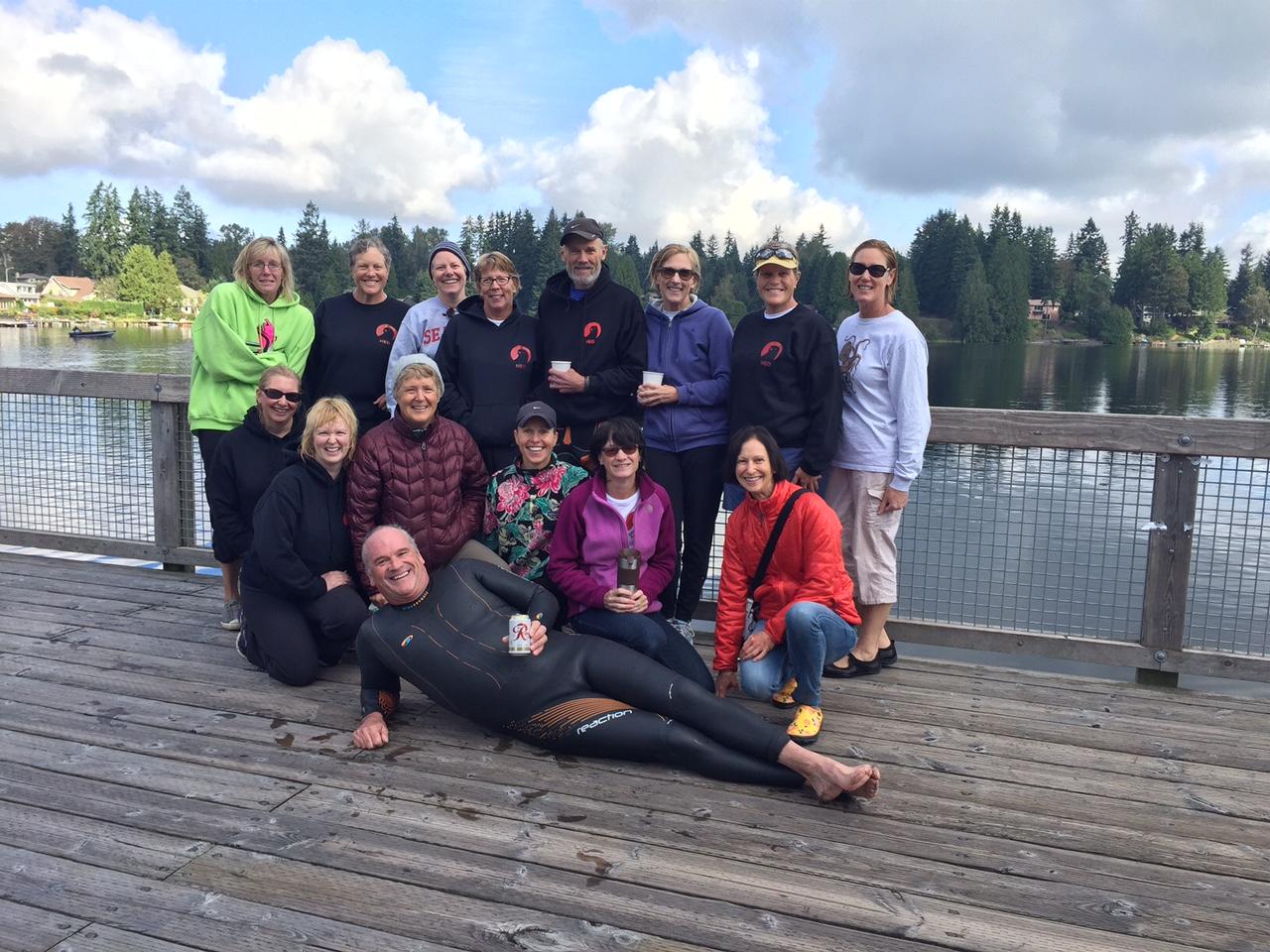 Martha Lake, Labor Day Swim 2015