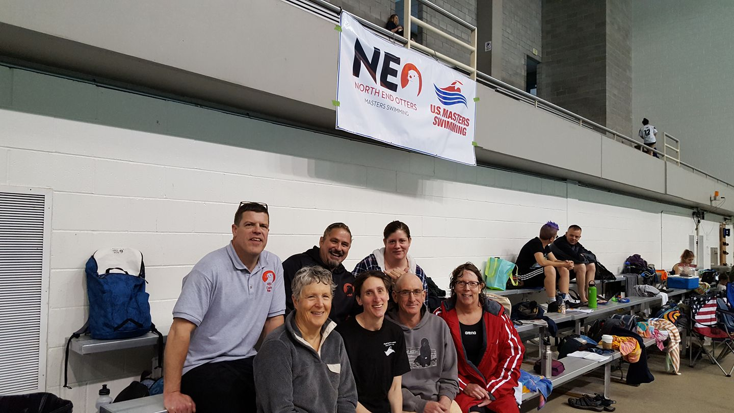 Our day 2 swimmers at PNA's. We ended up in 2nd place this year.