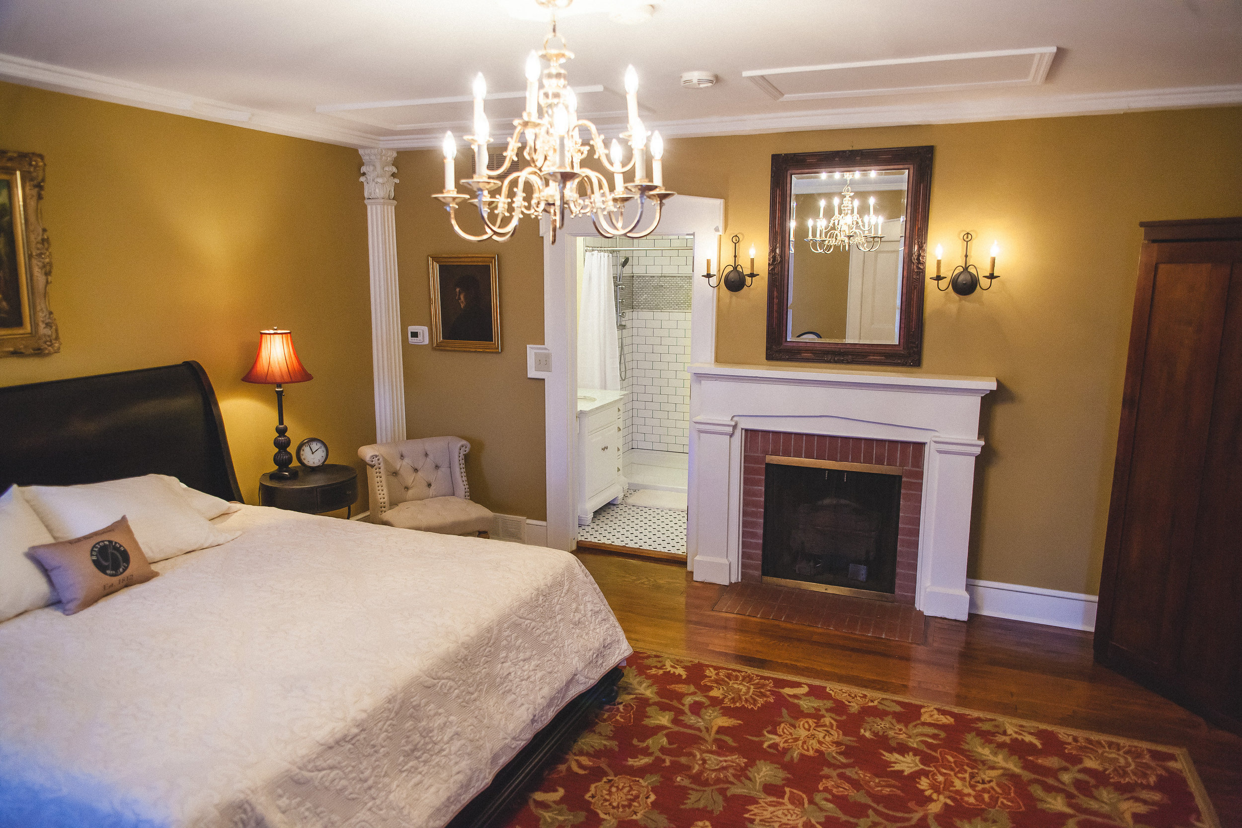COME STAY WITH US - Our unconventional layout makes us unique. The Main House and four other historical homes make up the 26 guest rooms at the Inn. All with amenities that you would expect at an upscale inn allowing our guests to immerse themselves in the history at the Buxton Inn.