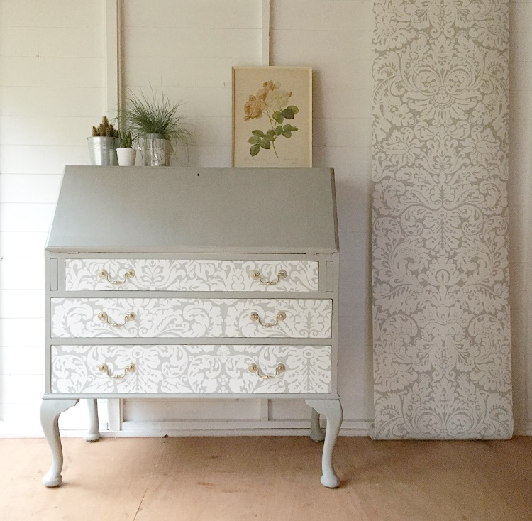 farrow and ball silver gate wallpaper