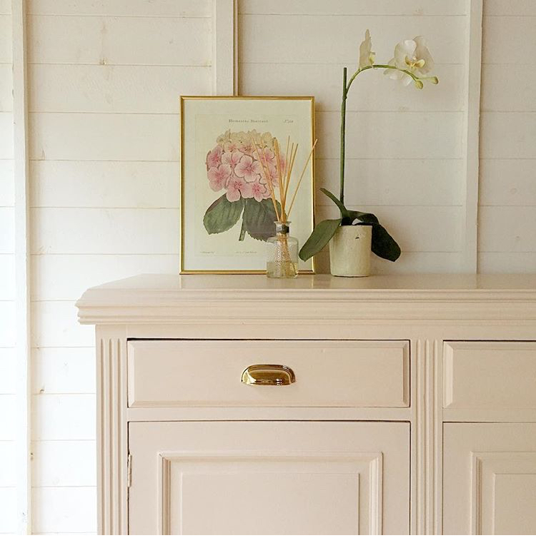 Blush Pink Painted Cupboard